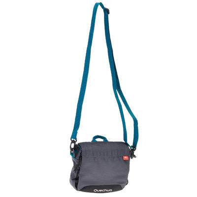 Bolso multicompartimentos gris