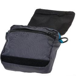 Pochette multi-compartiments gris