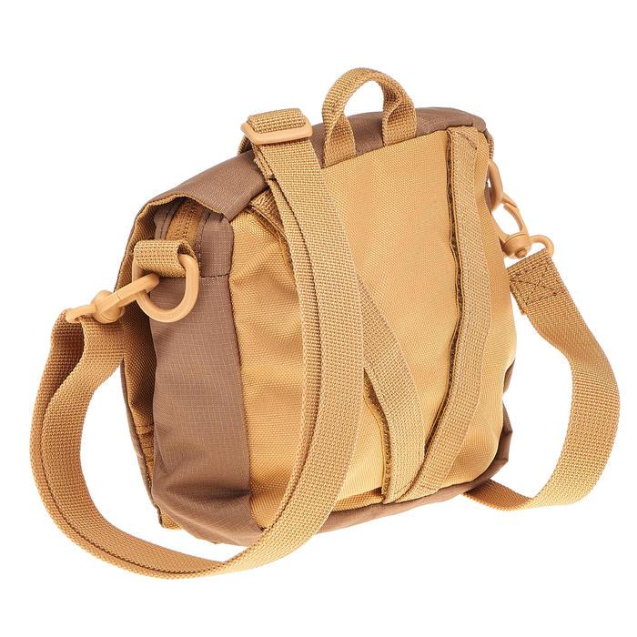 多隔層旅行腰包-棕色