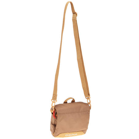 Travel Multi-Compartment Pouch - Brown