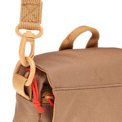 Bolsa multicompartimentos TRAVEL marrón