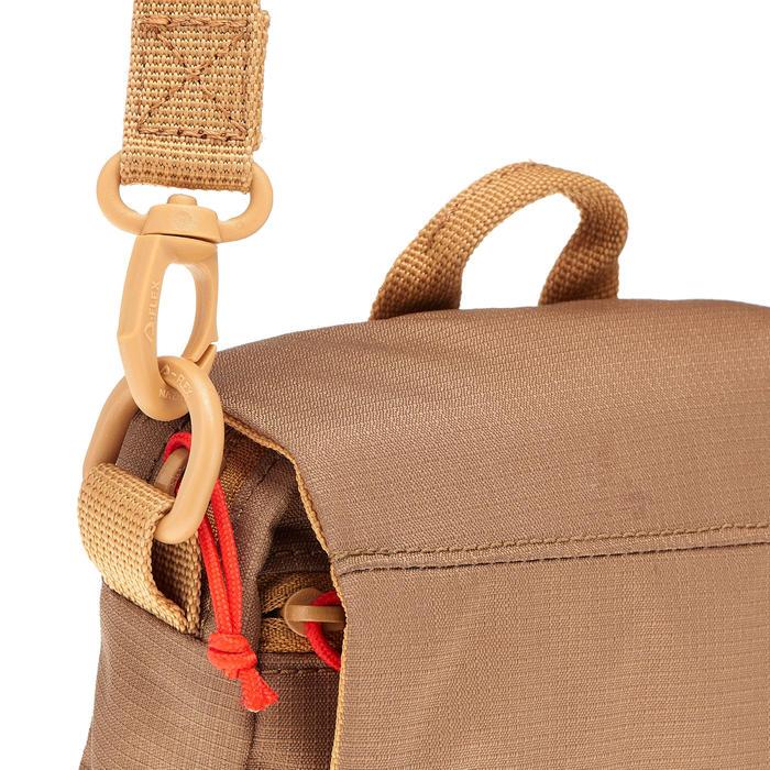 Pochette multi-compartiments TRAVEL marron