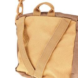 Schoudertasje met meerdere vakken Travel bruin