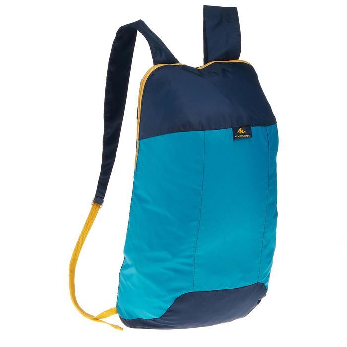 Opvouwbare rugzak van 10 liter blauw
