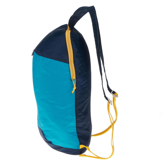 Ultra-Compact Travel 10 Litre Backpack - Blue