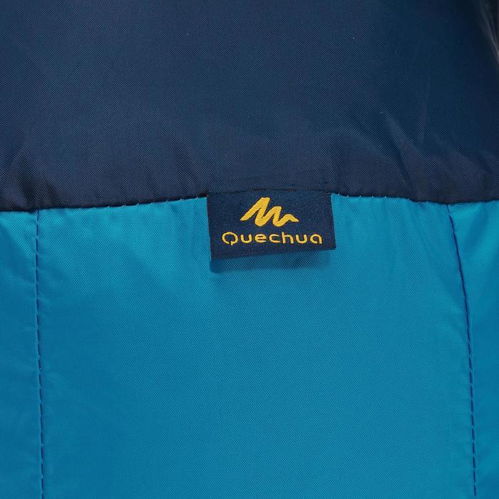 Extra compacte rugzak van 10 liter blauw