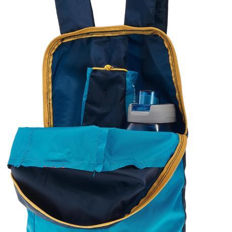 sac dos d 39 appoint ultra compact 10 litres bleu quechua. Black Bedroom Furniture Sets. Home Design Ideas