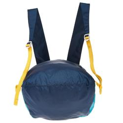Ultra-Compact Travel 10 Litre Rucksack - Blue