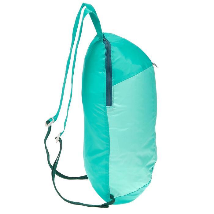 Ultracompacte rugzak Travel 10 liter lichtgroen