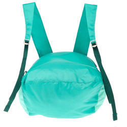 Sac à dos d'appoint ultra compact 10 litres turquoise