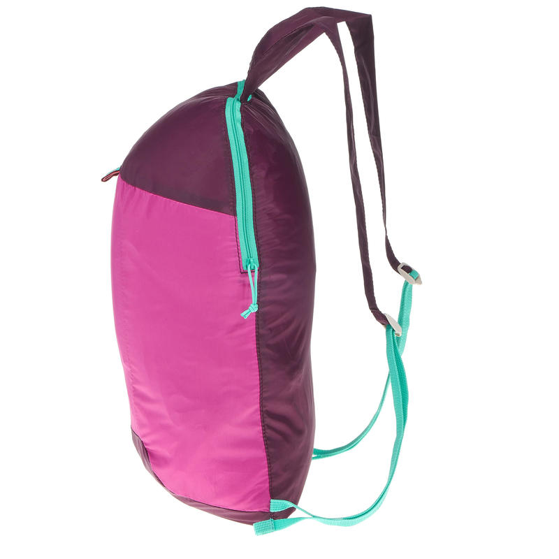 Mochila TRAVEL ultracompacta 10 litros Violeta