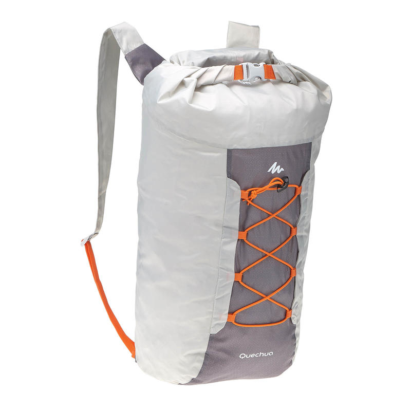 Ultra-Compact 20 Litre Waterproof Travel Backpack - Grey