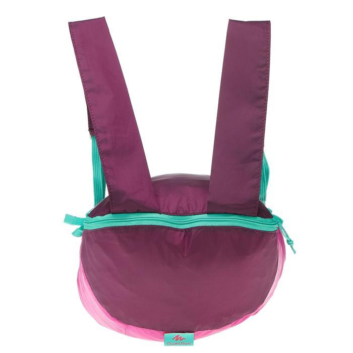 Supercompacte rugzak van 10 liter violet