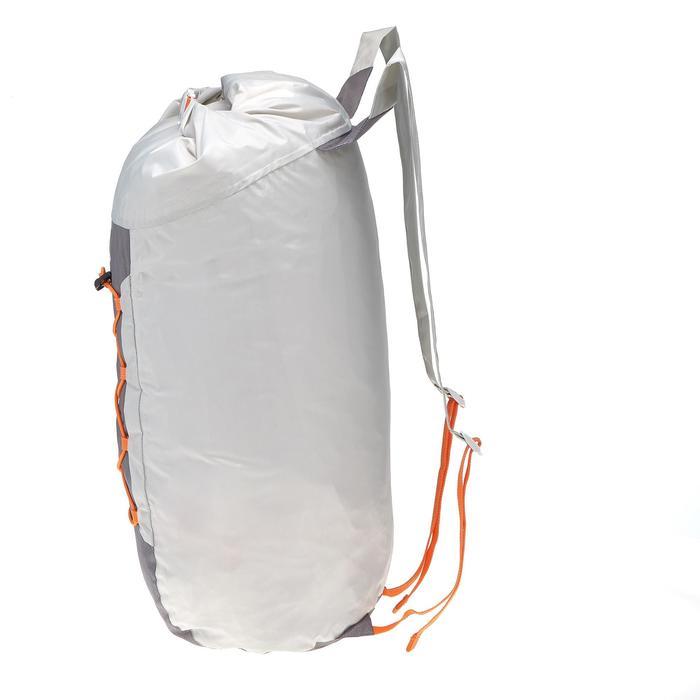 Ultracompacte waterdichte rugzak Travel 20 liter grijs