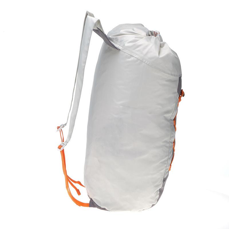 Ultra-Compact 20 Litre Waterproof Travel Rucksack - Grey
