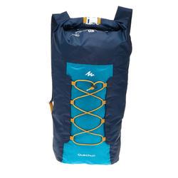 Sac à dos VOYAGE ultra compact 20 litres imperméable bleu