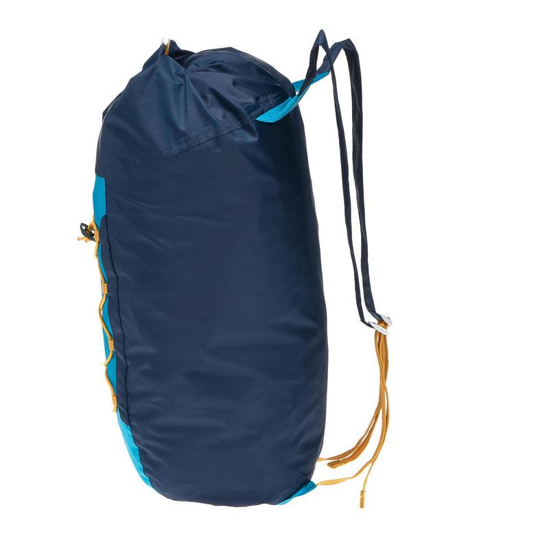 Mochila TRAVEL ultra compacta 20 litros impermeable azul