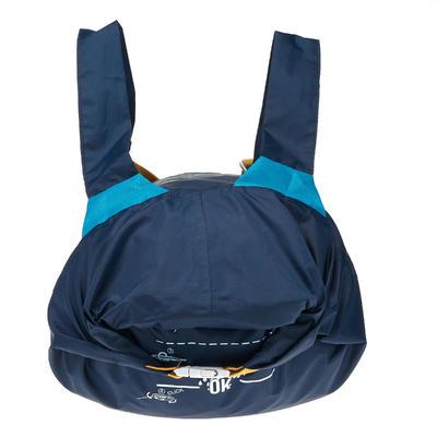 תרמיל גב נוסף קומפקטי במיוחד ועמיד במים 20 ל' - כחול