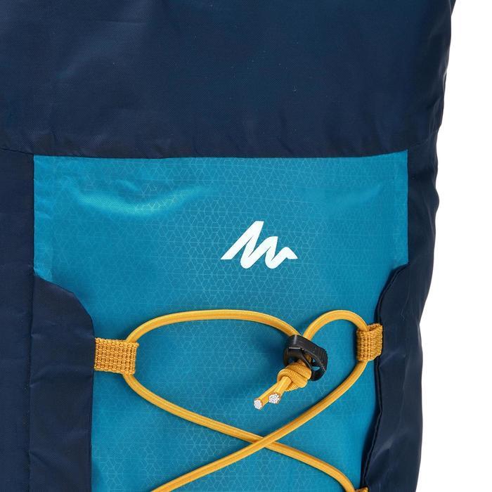 Supercompacte rugzak van 20 liter blauw