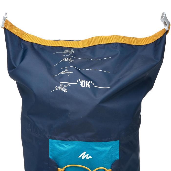 Rucksack Travel ultrakompakt 20 Liter wasserdicht blau
