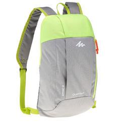 10-L 健行運動背包 NH100 – 灰色/綠色