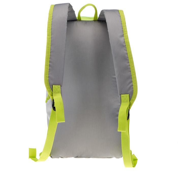 Wanderrucksack NH100 10 Liter grau/grün