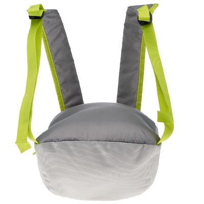 حقيبة ظهر Arpenaz 10 لتر للتنزه - رمادي وأخضر