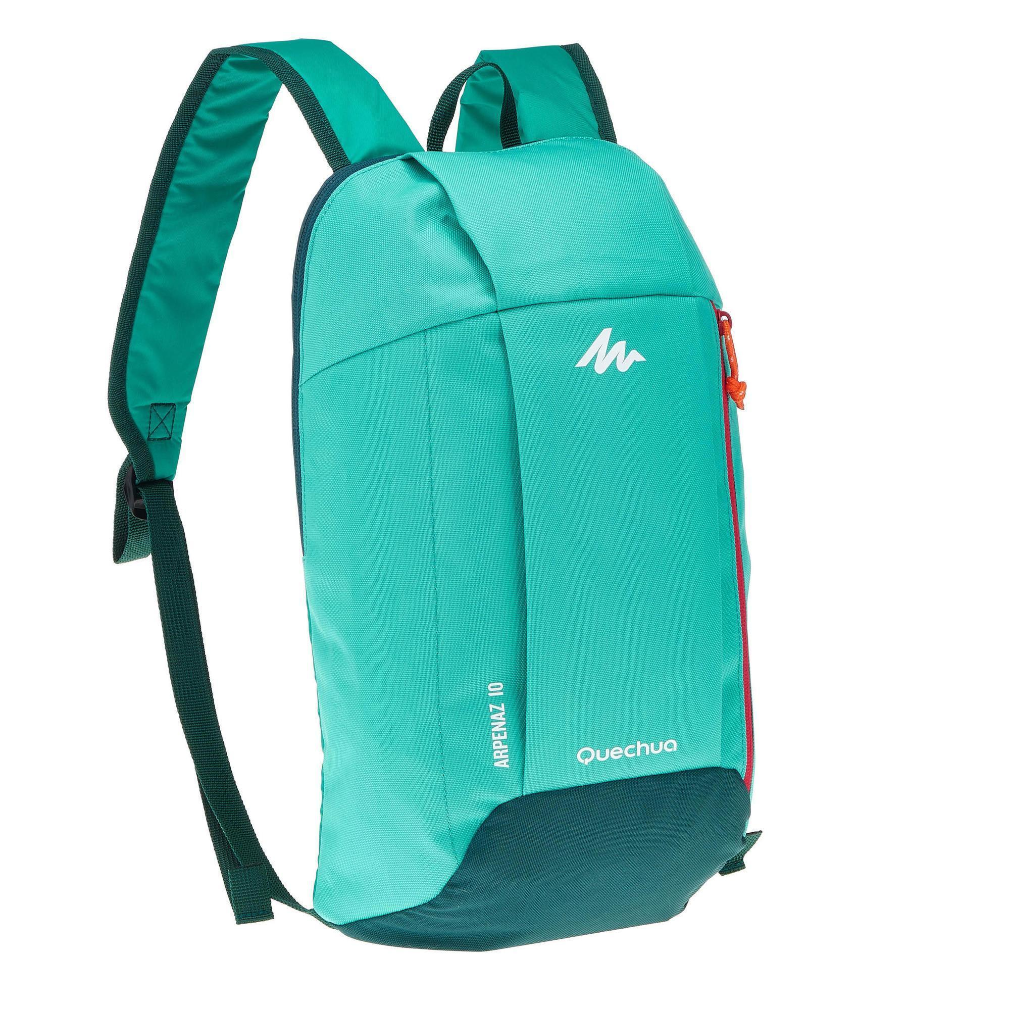 Nh100 10 L Hiking Backpack Mint Green Quechua