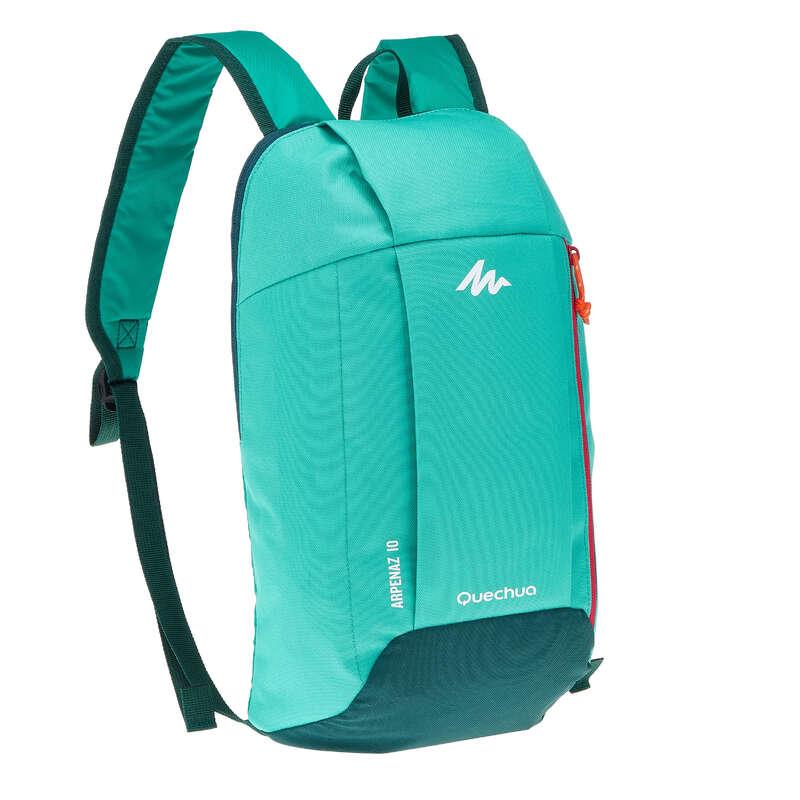 10L TO 30L NATURE HIKING BACKPACKS - NH100 10L Backpack - Mint Green QUECHUA