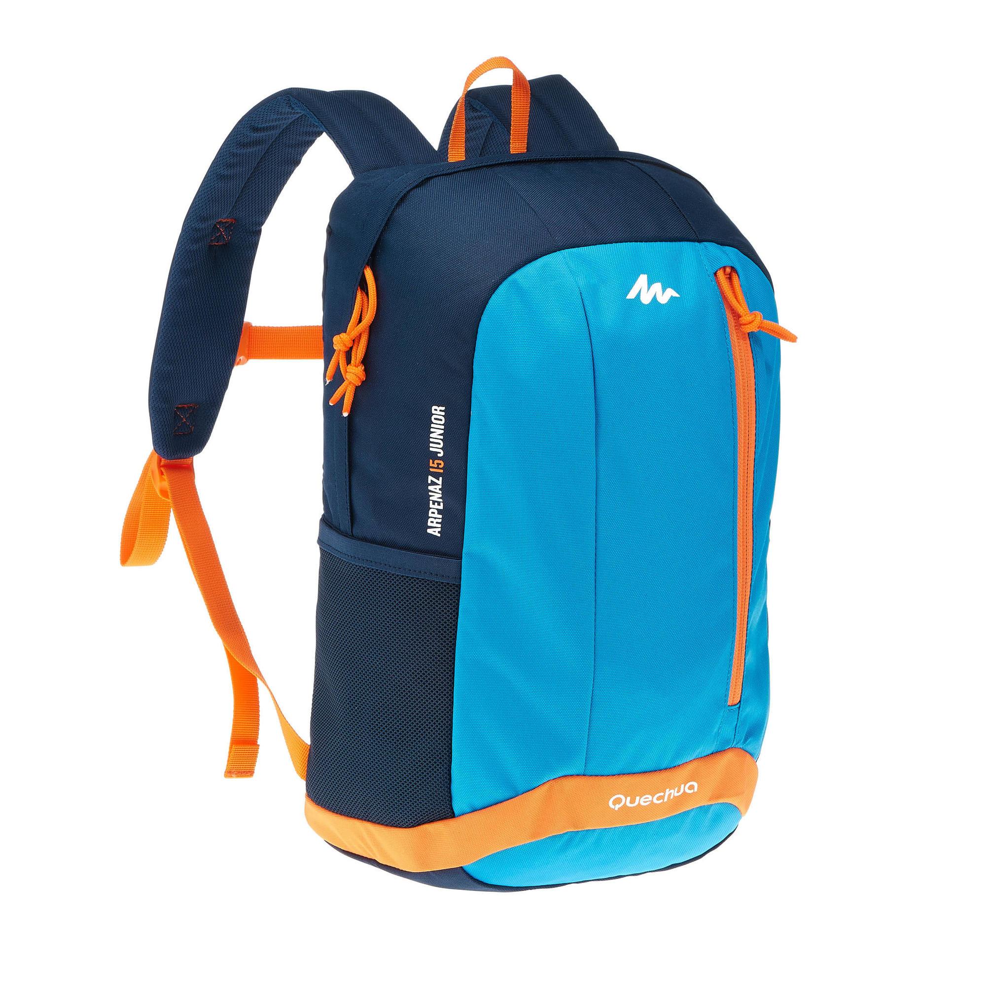 sac dos de randonn e enfant arpenaz 15 litres junior bleu quechua. Black Bedroom Furniture Sets. Home Design Ideas