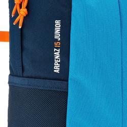Mochila Montaña Senderismo Quechua15L Arpenaz MH300 Niño Azul