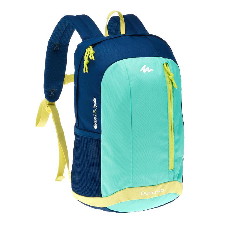 Kids' Hiking rucksack MH500 15 Litres green