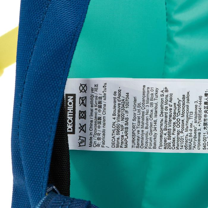 Rucksack Arpenaz 15 Liter Kinder grün/blau