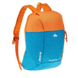 Arpenaz 7L兒童健行背包-藍色/橘色