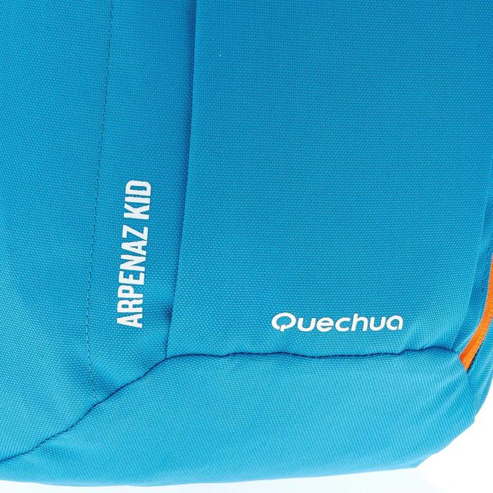 Wandelrugzak voor kinderen MH100 7 liter blauw oranje