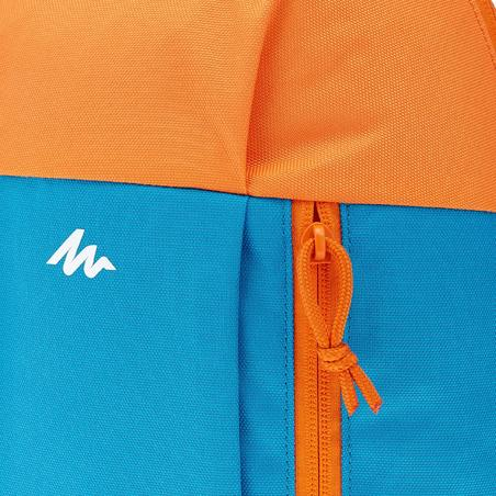 Kids 7 litre hiking backpack MH100 - Blue/orange