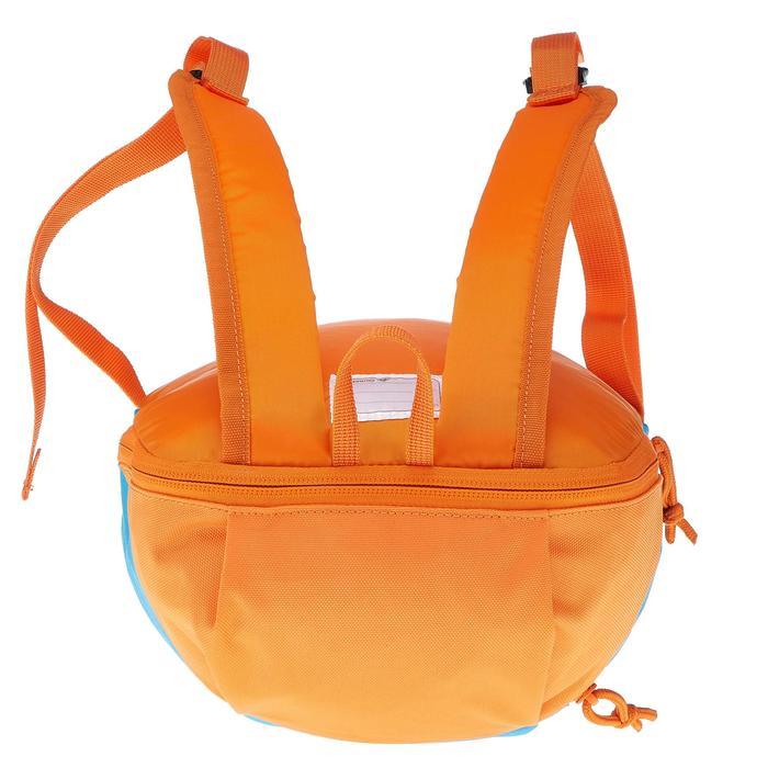 Wanderrucksack Arpenaz 7 Liter Kinder 3-6 Jahre blau/orange