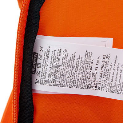 Morral de excursionismo para niños Arpenaz Kid azul naranja