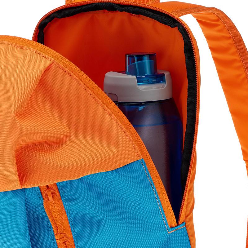 Mochila de hiking para niños Arpenaz 7 Litros niños azul naranja