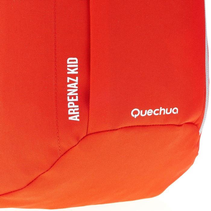 Mochila Montaña Senderismo Quechua 7L Arpenaz MH100 Niño Rojo Negro 7 L