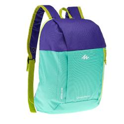 Kid's Arpenaz 7-litre backpack - Green/Purple