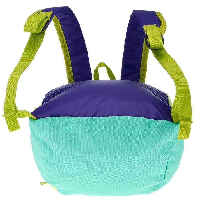 Mochila Arpenaz 7 litros niños verde violeta