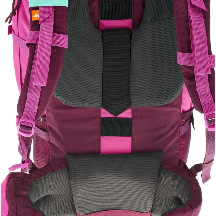 Backpacking-Rucksack Forclaz 50 Liter rosa
