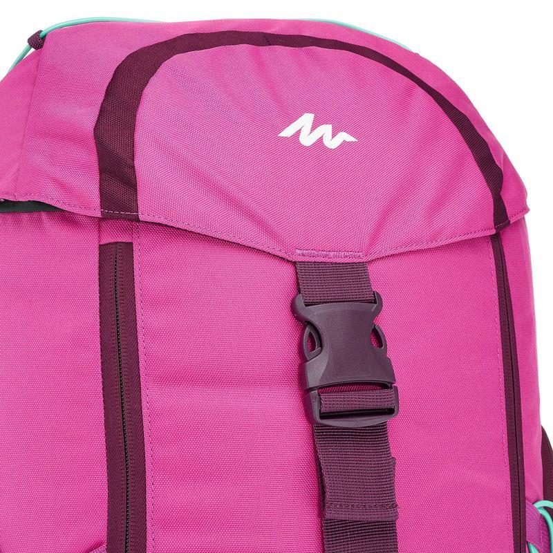Travel Backpack Forclaz 50-Litre - Mauve