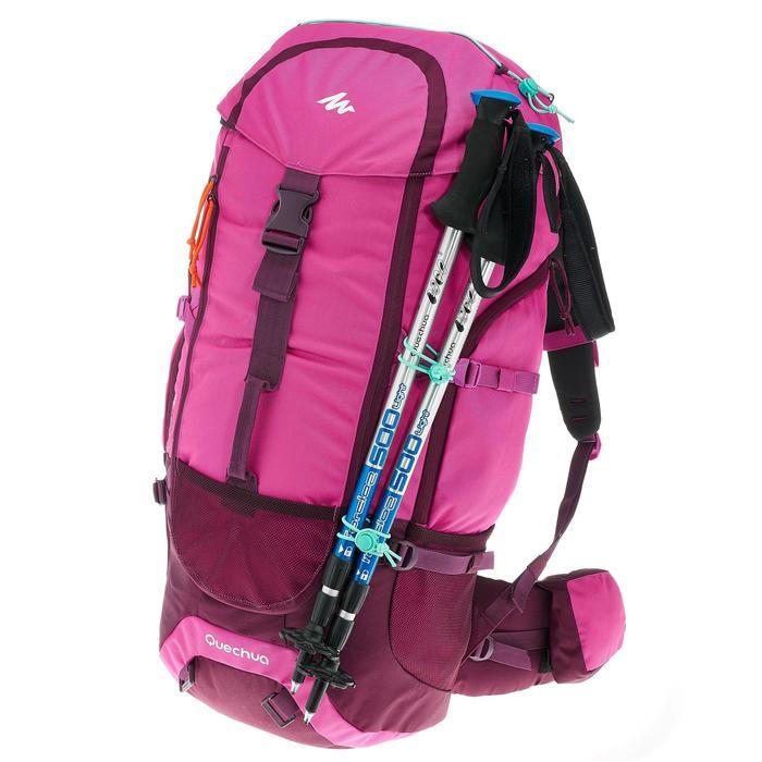 Forclaz 50 litre Trekking Backpack - mauve