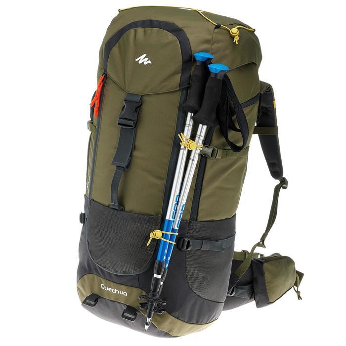 Sac à dos Trekking forclaz 70 litres gris foncé - 754688