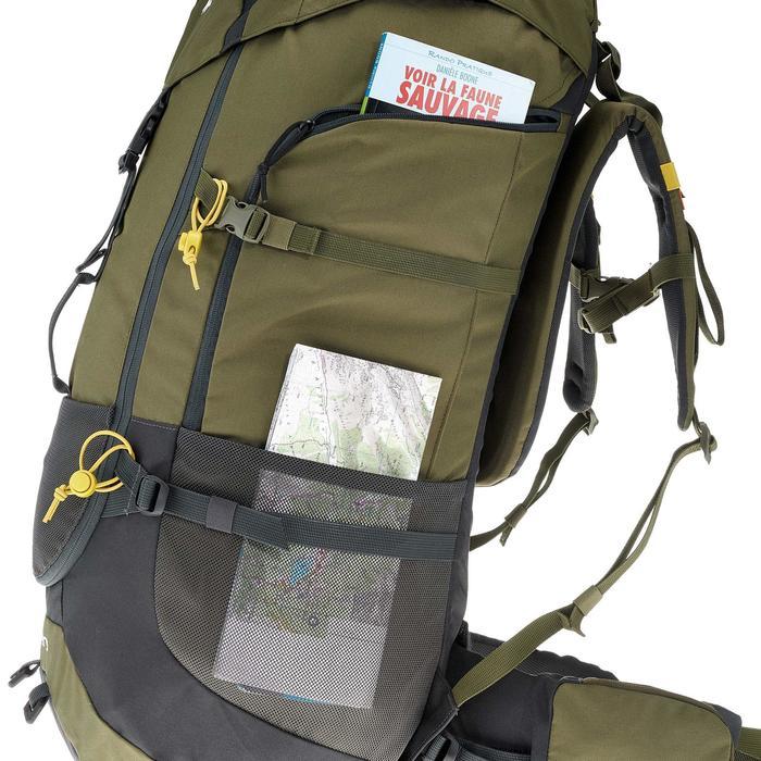 Sac à dos Trekking forclaz 70 litres gris foncé - 754689