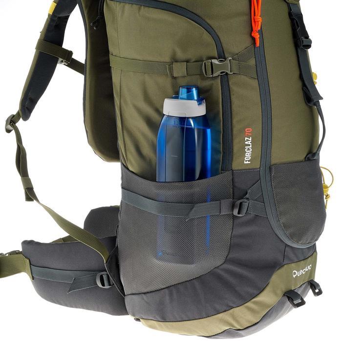 Sac à dos Trekking forclaz 70 litres gris foncé - 754691