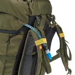 Mochila de Montaña y Trekking Forclaz 70 Litros Caqui