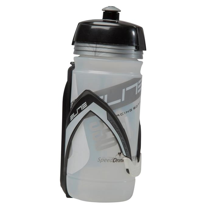 Flaschenhalter Radsport Custom Race schwarz/weiß